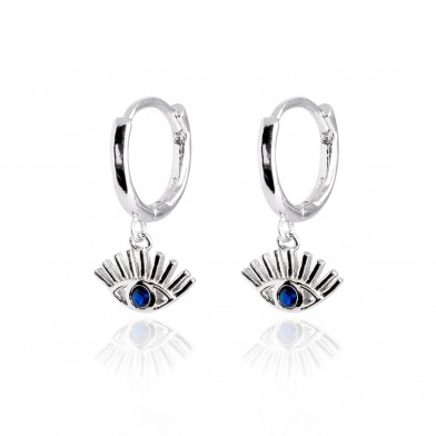 Pendientes egyptian eye Plata